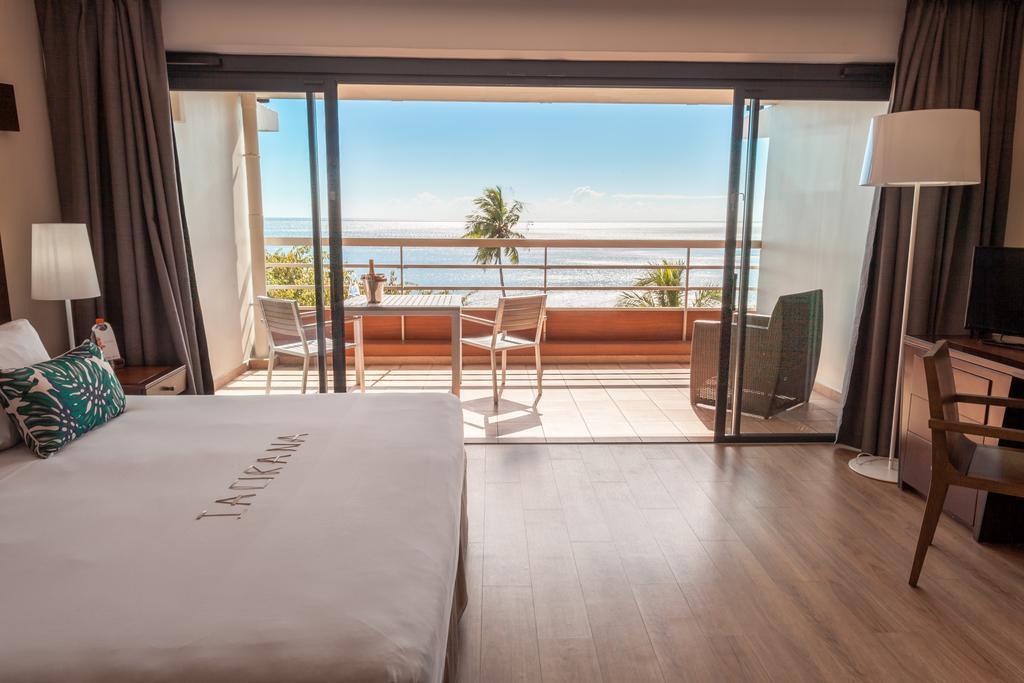 View of the Tahiti Pearl Resort rooms