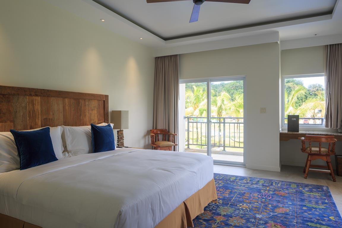 View of Koror Cove resort's room