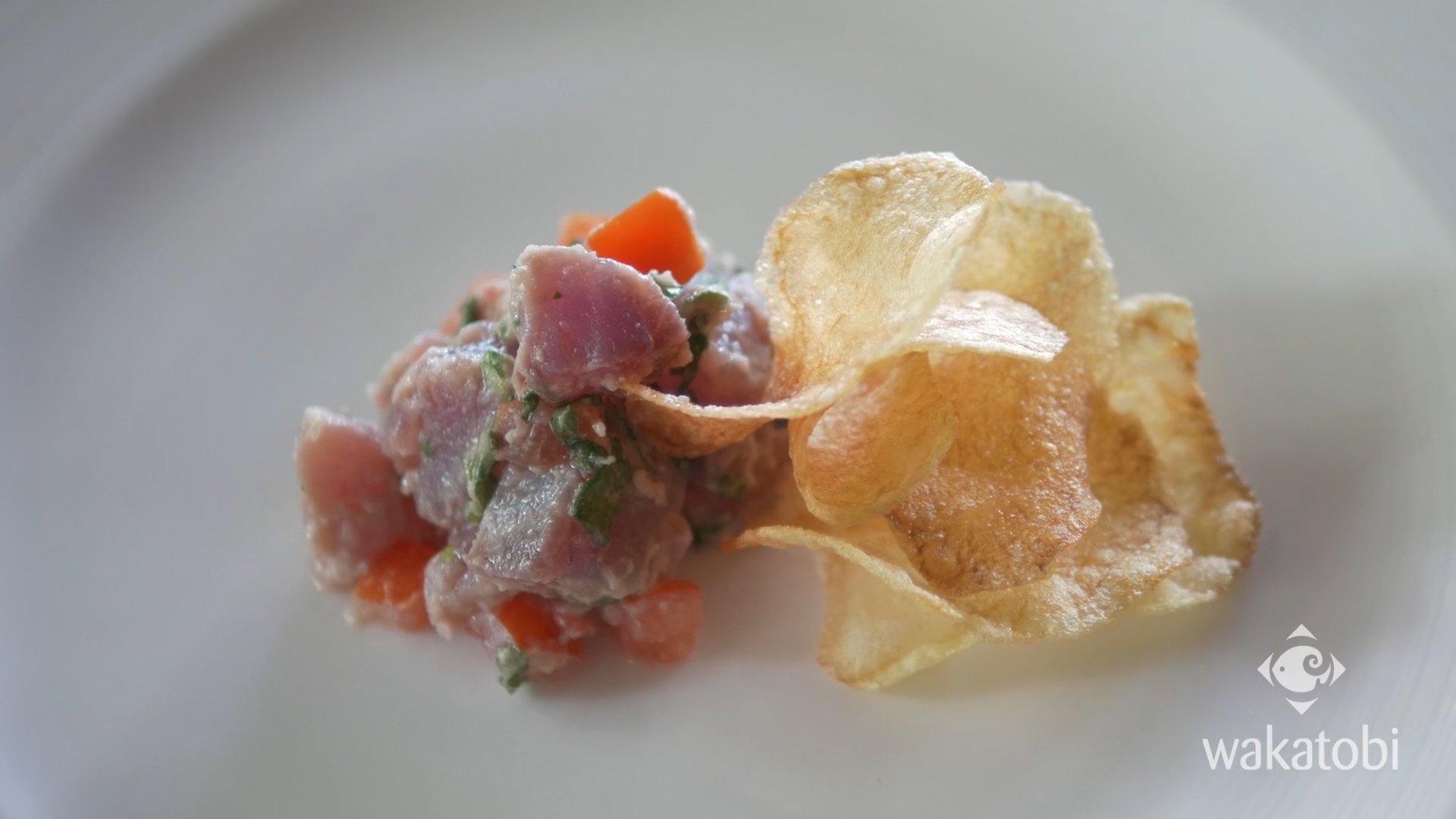 gourmet food at wakatobi
