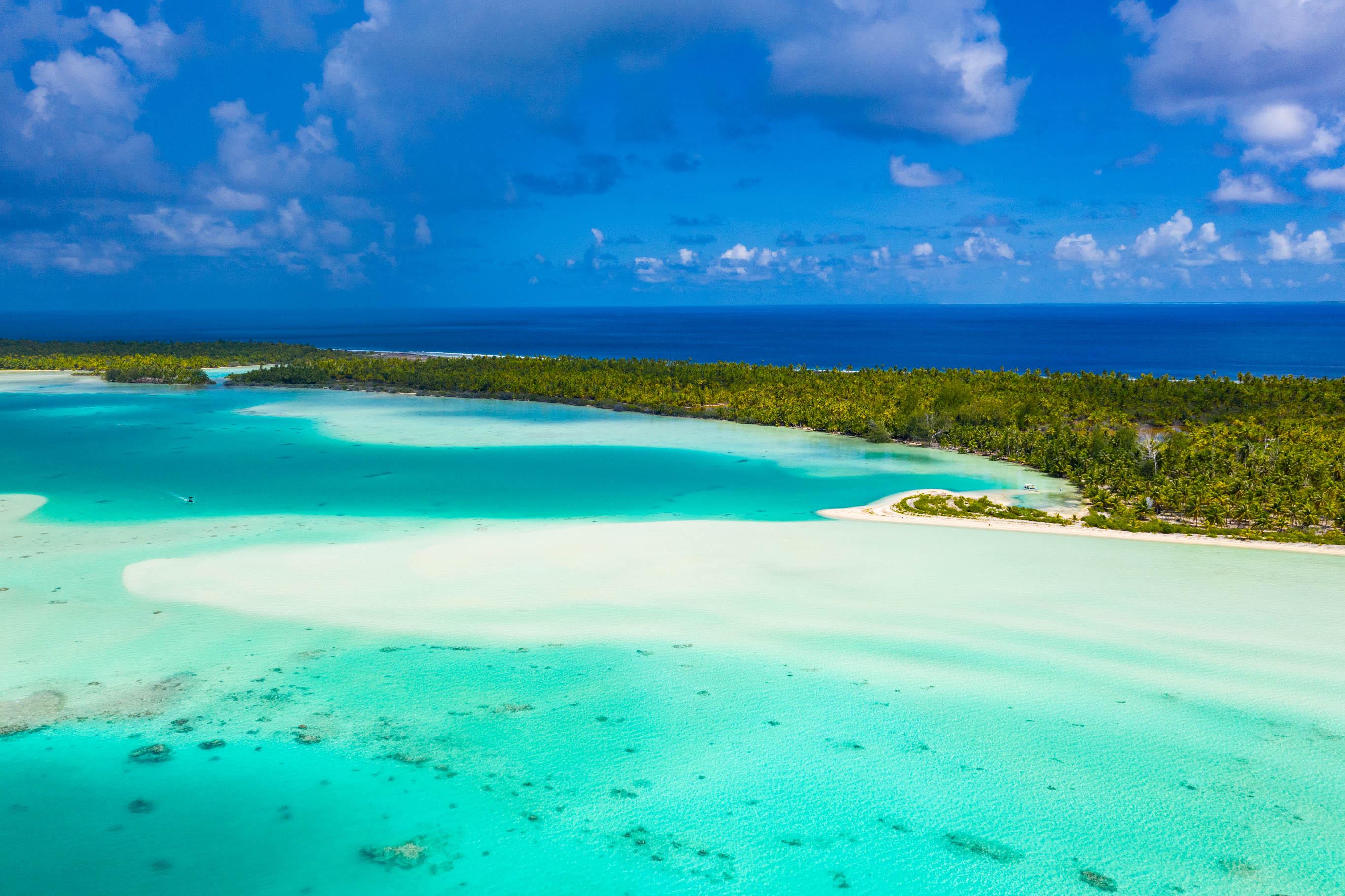 Fakarava Atoll white sand beach