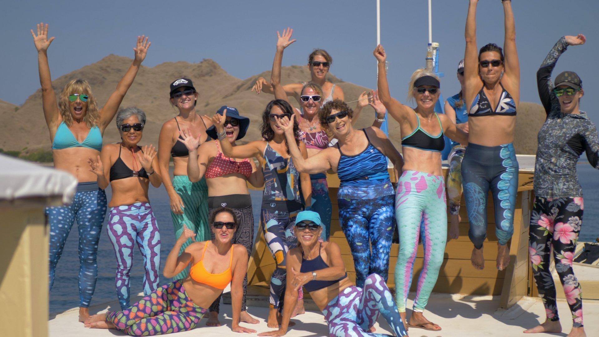 Happy snorkel venture guests