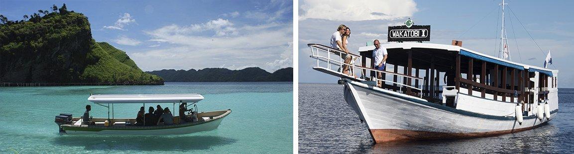 Misool & Wakatobi Snorkel Boats