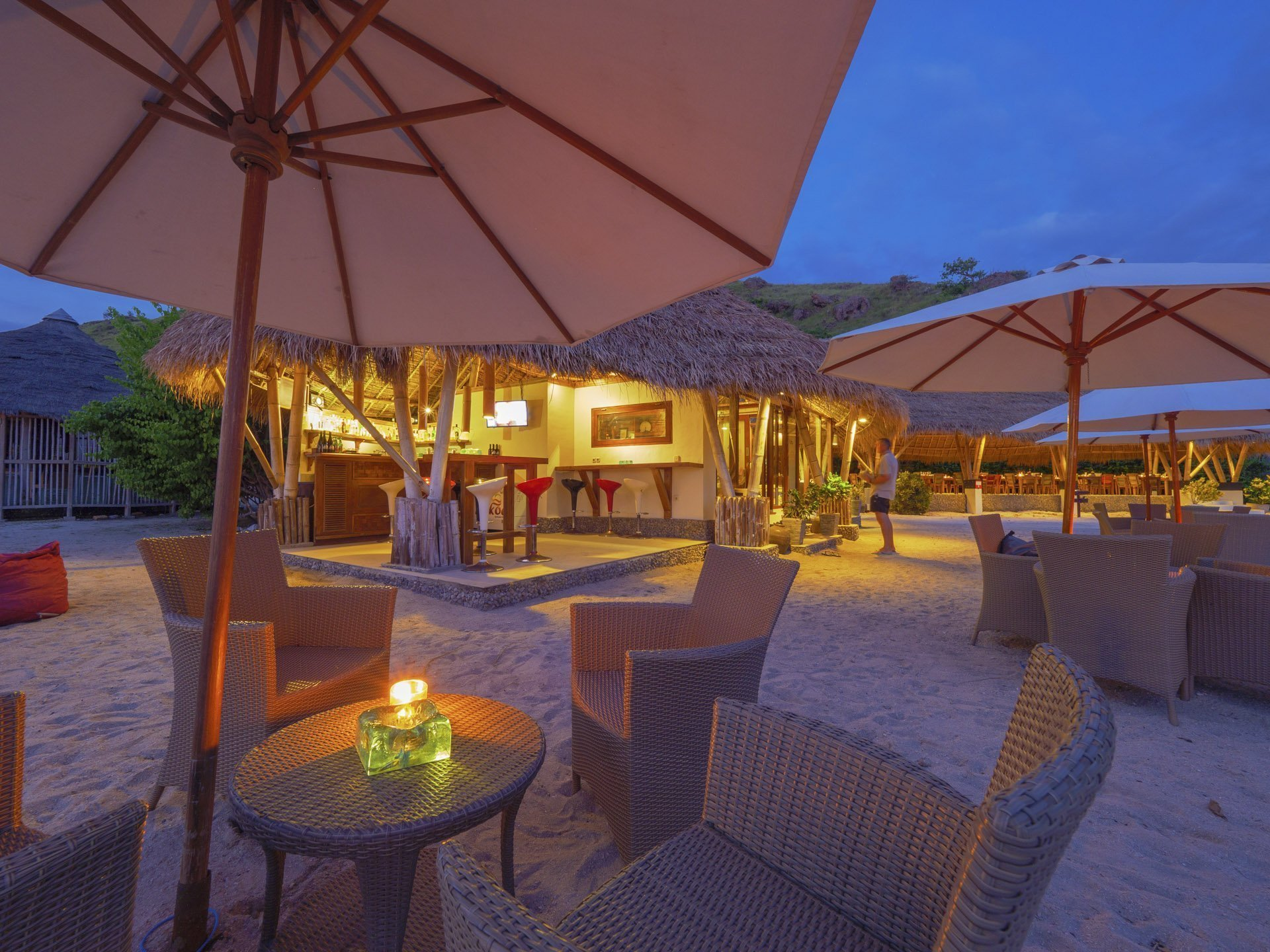 Komodo Resort Beach Bar