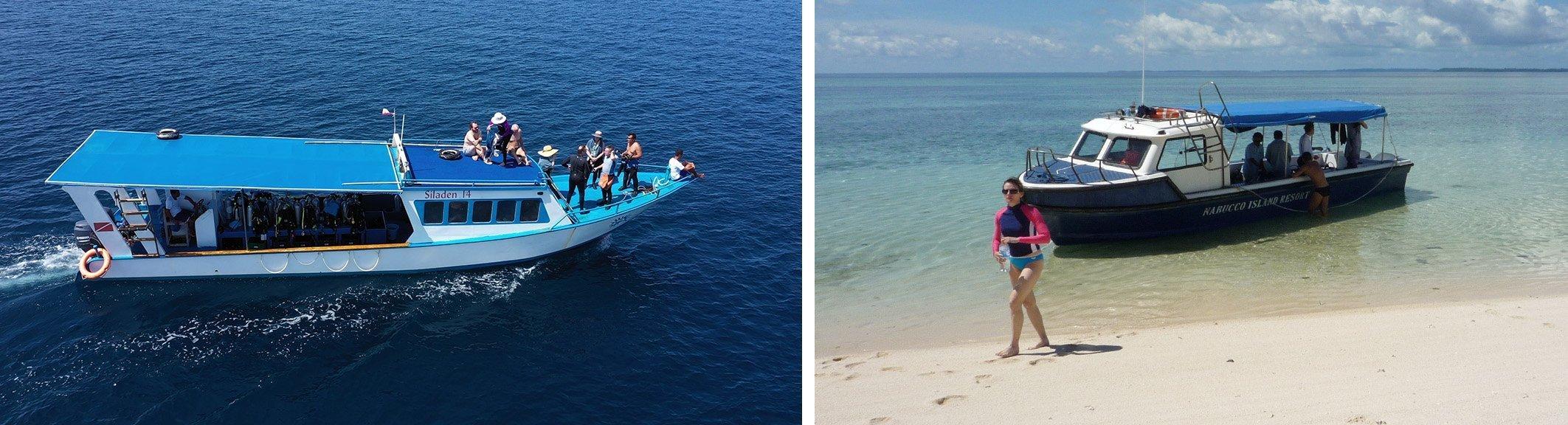 Snorkeling Boats for Siladen Resort and Nunukan Island Resort