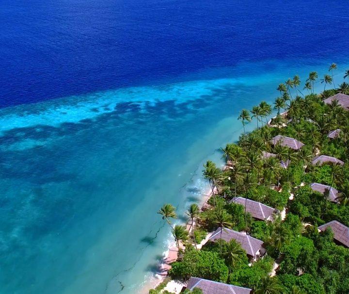 wakatobi resort aerial view