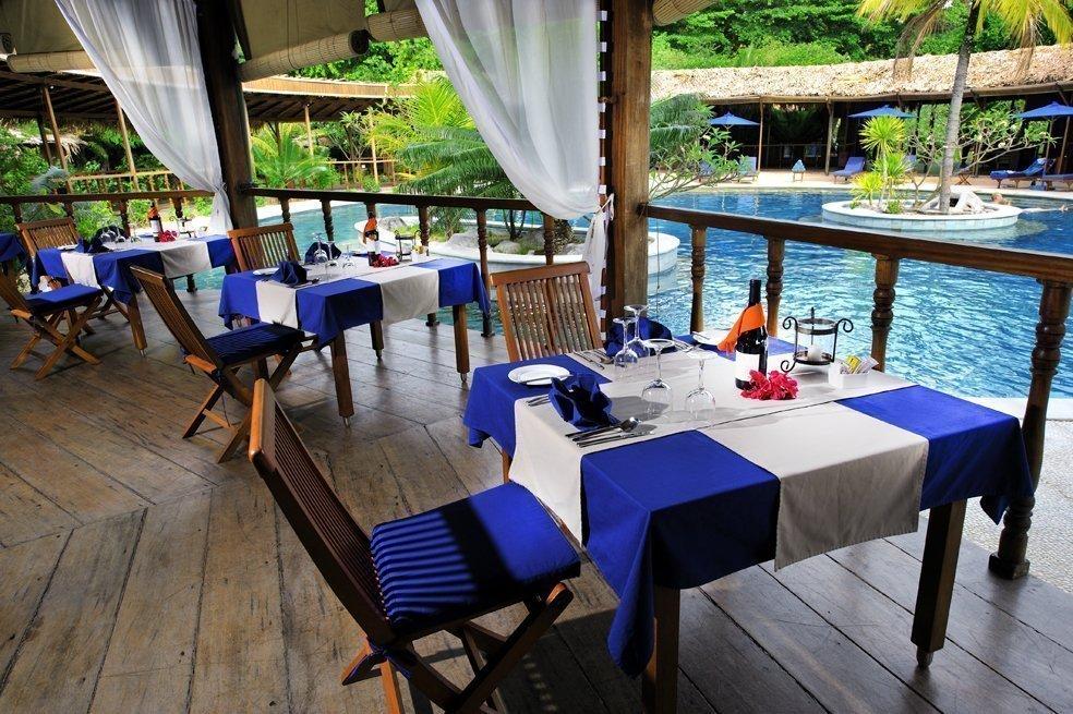 Dining room at Siladen Resort