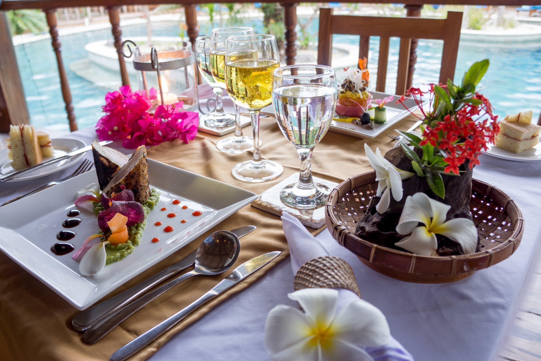 Food options at Siladen Resort