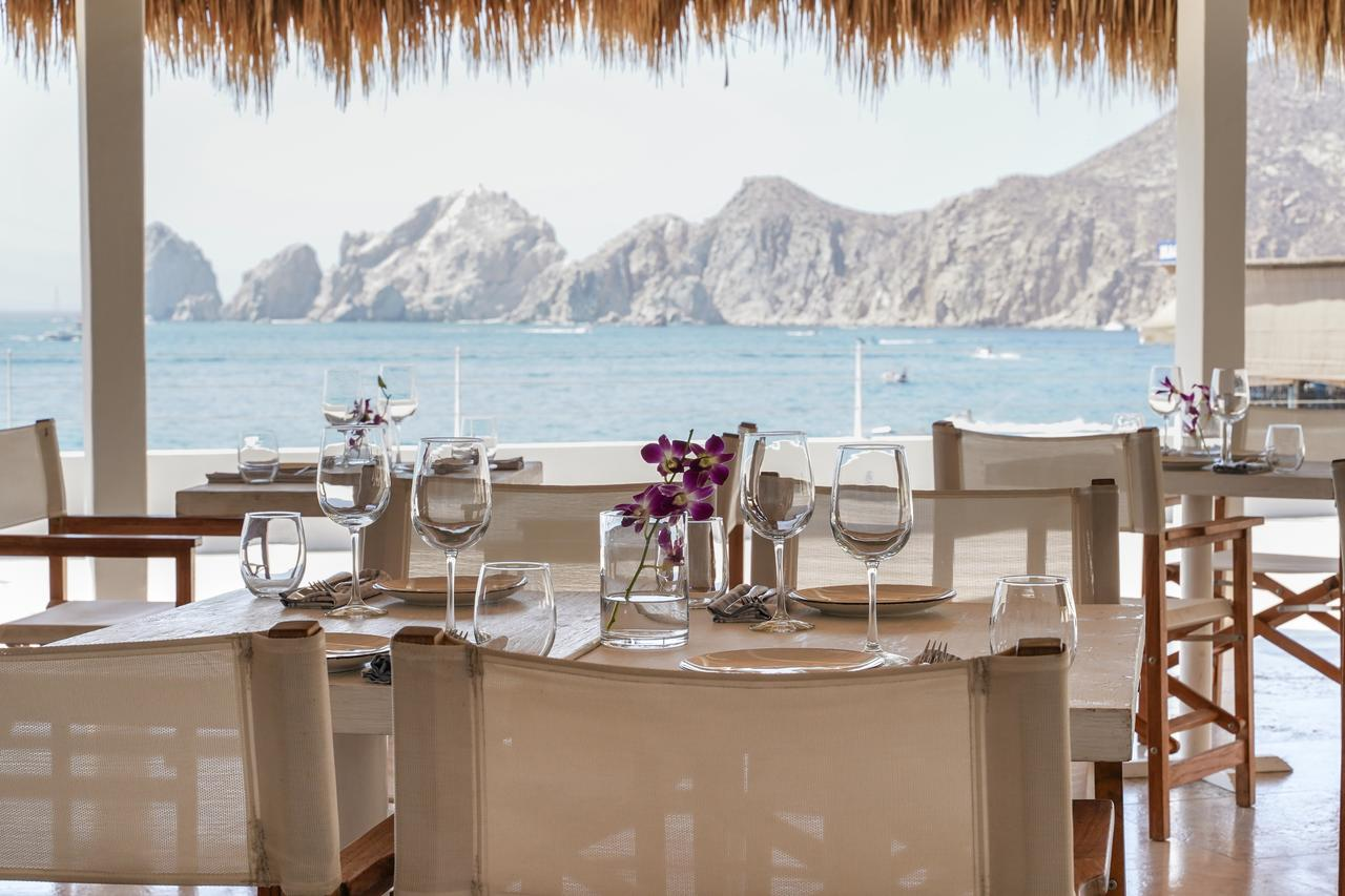 View of cabo coastline form resorts restaurant