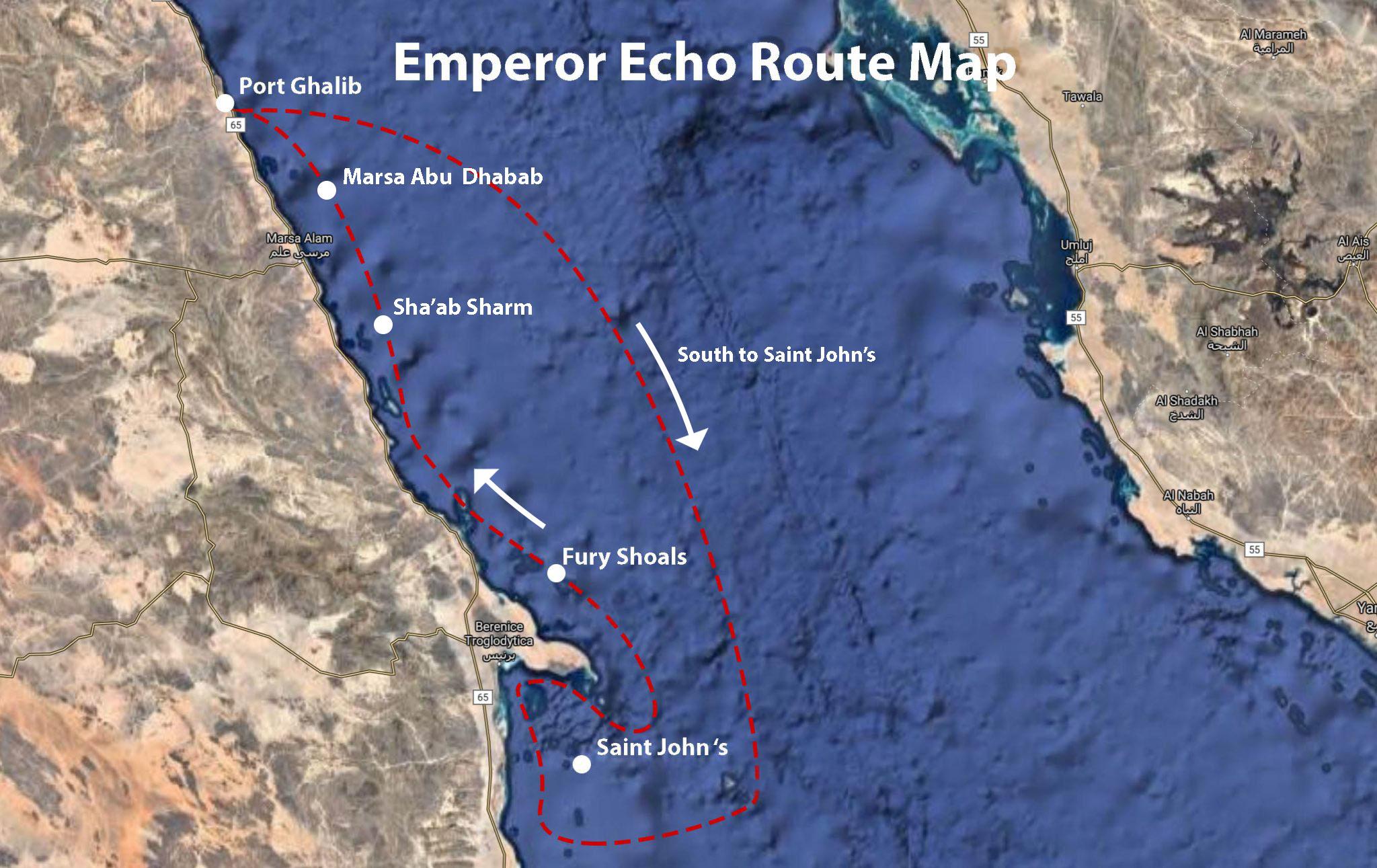 Emperor Echo Map