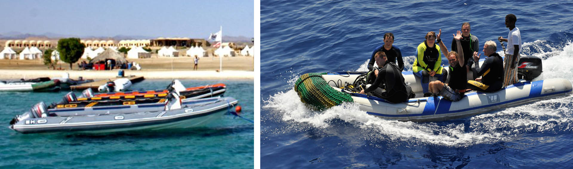 Red sea snorkeling boats
