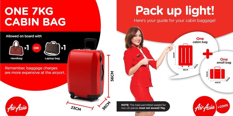 Air asia baggage guide