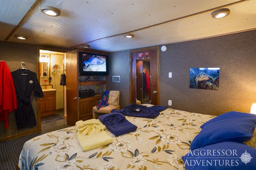 Deluxe Stateroom on Belize Aggressor IV